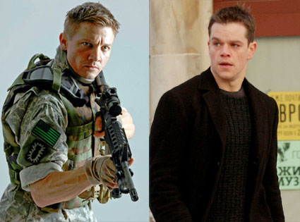The Hurt Locker, Jeremy Renner, Bourne Supremacy, Matt Damon