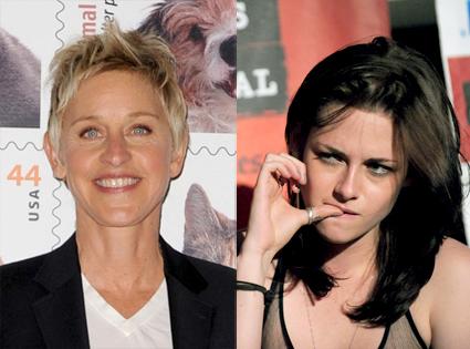 Ellen DeGeneres, Kristen Stewart