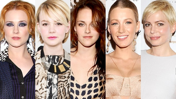 Evan Rachel Wood, Carey Mulligan, Kristen Stewart, Blake Lively, Michelle Williams