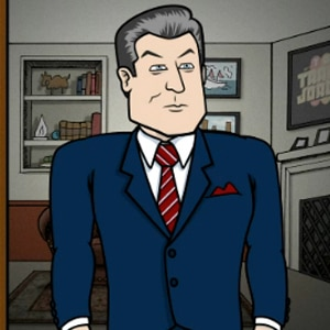 Jack Donaghy, Alec Baldwin, 30 Rock Cartoon