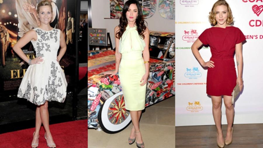 Reese Witherspoon, Megan Fox, Scarlett Johansson