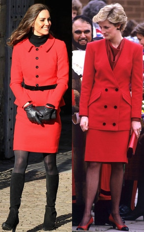 Red Coat Of Arms From Fashion Face Off Kate Middleton Vs