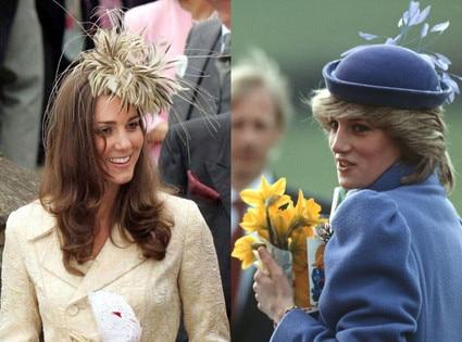 Kate Middleton, Princess Diana