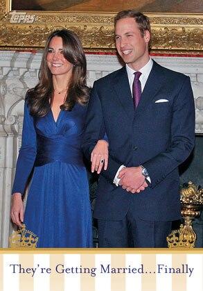 Royal Wedding Trading Card