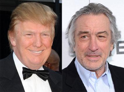 Robert De Niro,Donald Trump
