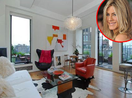Jennifer Aniston Apartment