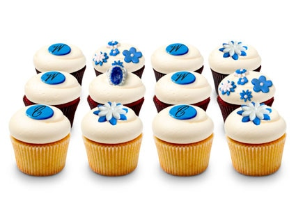 DC Royal Dozen Cupcakes