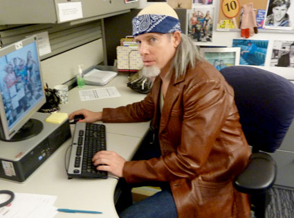 Chelsea Lately, Working in Costume