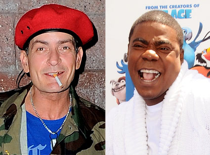 Tracy Morgan, Charlie Sheen