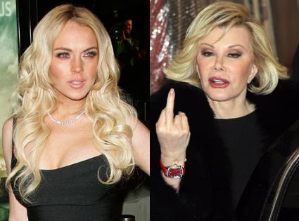 Lindsay Lohan, Joan Rivers