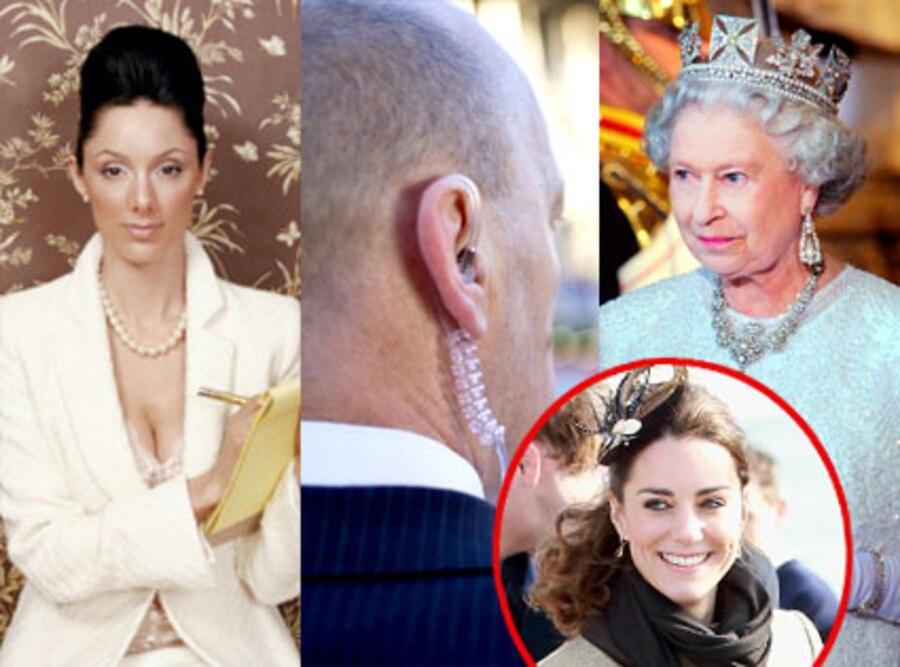Lady in Waiting, Royal Bodyguard, Queen Elizabeth, Kate Middleton
