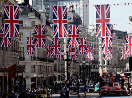Regent Street, London, Royal Wedding