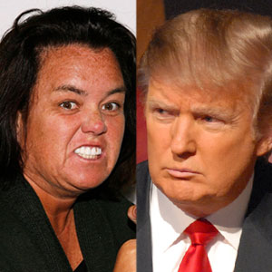 Donald Trump, Rosie O'donnell