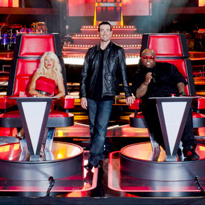 The Voice, Christina Aguilera, CeeLo Green