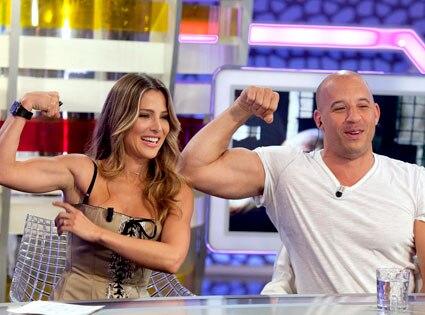 Elsa Pataky, Vin Diesel