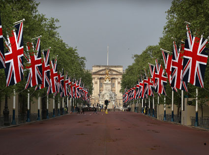 The Mall, Royal Wedding