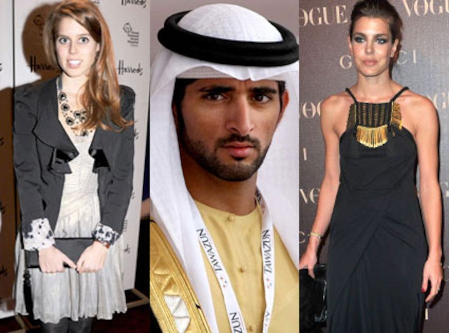 Princess Beatrice, Sheikh Hamdan bin Mohammed bin Rashid al Maktoum, Charlotte Casiraghi