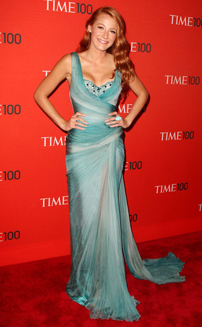 Time 100 Gala From Blake Lively S Cleavage Obsession