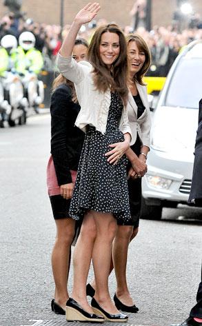 Kate Middleton,Carole Middleton, Pippa Middleton