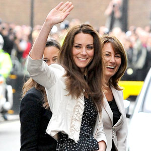 Kate Middleton,Carole Middleton, Pippa Middleton