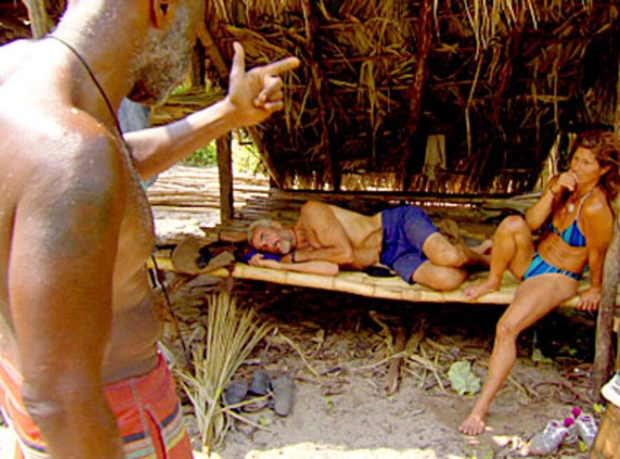 Survivor: Redemption Island, Phillip Sheppard, Steve Wright, Julie Wolfe