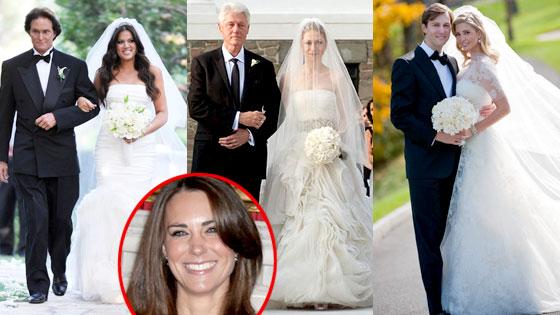 Khloe Kardashian, Chelsea Clinton, Ivanka Trump, Kate Middleton