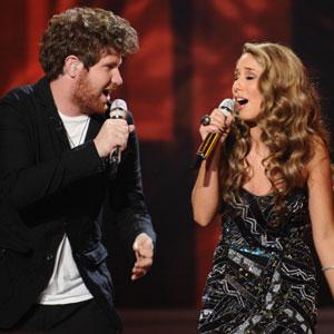 Casey Abrams, Haley Reinhart, American Idol