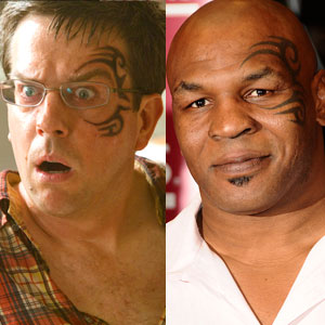 Mike Tyson, Ed Helms