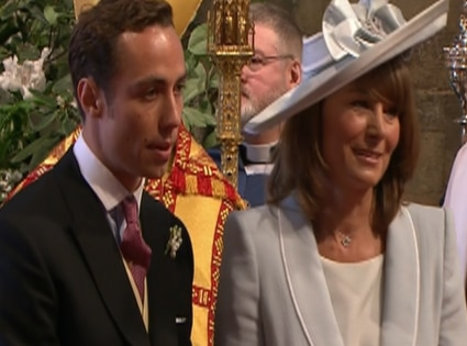 Carole Middleton, James Middleton