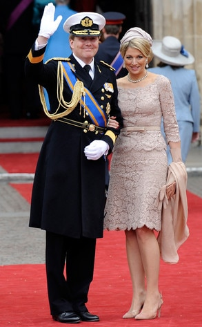 Netherlands Crown Prince Willem-Alexander, Netherland Princess Maxima