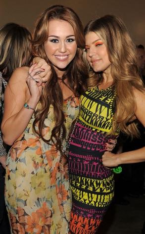 Miley Cyrus, Fergie