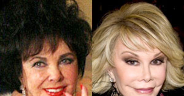 Did Joan Rivers Pick A Fight With Elizabeth Taylor After