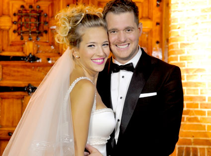 Michael Bubl 233 Amp Luisiana Lopilato From Celebrity Weddings