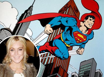 Superman, Lindsay Lohan