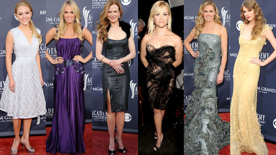 AnnaSophia Robb, Carrie Underwood, Nicole Kidman, Reese Witherspoon, Laura Bell Bundy, Taylor Swift