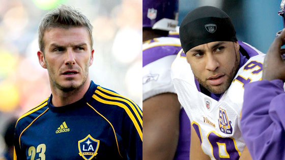 David Beckham, Hank Baskett