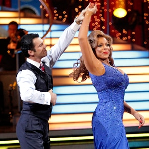 DANCING WITH THE STARS, DWTS, WENDY WILLIAMS, TONY DOVOLANI