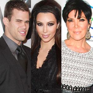 Kris Humphries, Kim Kardashian, Kris Jenner