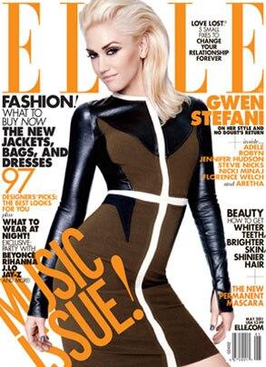 Gwen Stefani, Elle Cover