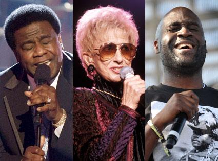 Al Green, Tammy Wynette, De La Soul