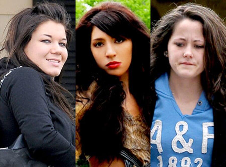 Amber Portwood, Farrah Abraham, Jenelle Evans, Teen Mom