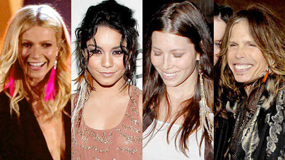 Gwyneth Paltrow, Vanessa Hudgens, Jessica Biel, Steven Tyler