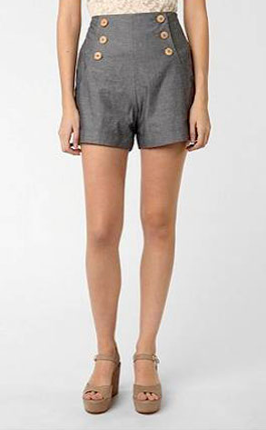 Sparkle and Fade Hi-Waisted Sailor Short