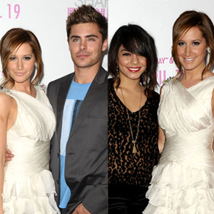 Ashley Tisdale, Vanessa Hudgens, Zac Efron