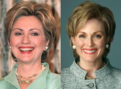 Julianne Moore, Hillary Clinton