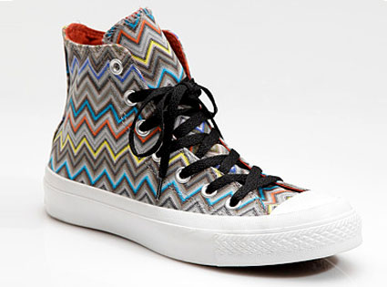 Missoni High-Top Sneakers