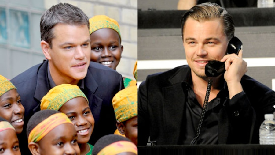 Matt Damon, Leonardo DiCaprio