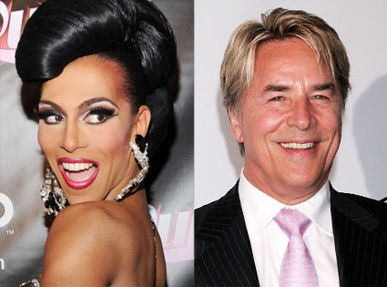 Queen Shangela Laquifa Wadley, Don Johnson