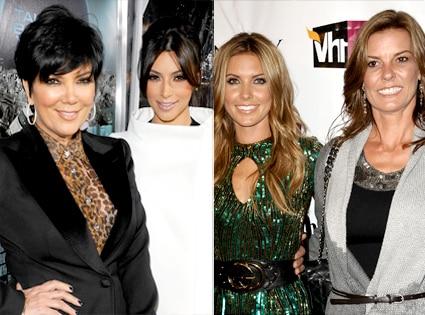 Kris Jenner, Kim Kardashian, Audrina Patridge, Lynn Patridge