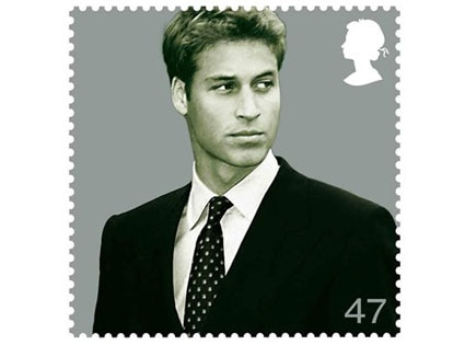 Prince William, Stamp
